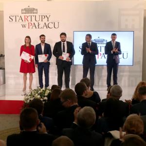 Wreczenie nagród przez Ministra M. Morawieckiego oraz Prezydęta A. Dudę